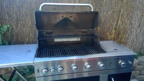 Used 5 Burner Stainless Grill in Temecula, California