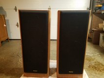 Technics A31 3 Way 8 ohm 200 watt Vintage Speakers in Lockport, Illinois