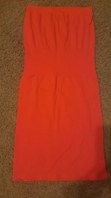 Neon Orange dress in Cherry Point, North Carolina