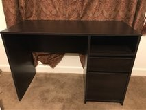 Brown office desk with filing drawer! in Travis AFB, California