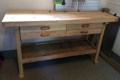 Wood workbench with 4 drawers in Stuttgart, GE