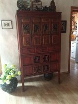 Chinese China Cabinet in Ansbach, Germany
