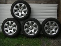 BMW All-Season Tires M&S 205/55R16 Styling 45 rims 3.ser in Ramstein, Germany