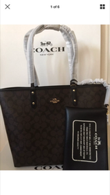 Coach tote in Fort Campbell, Kentucky
