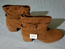 Womens American Eagle Willow Slouch Boot Size 7 1/2 - Cognac Suede in Fort Polk, Louisiana