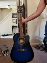 Ibanez electric acoustic with built in tuner. in Fort Polk, Louisiana