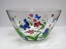 Lenox Butterflies and Blossoms Glass Bowl in St. Charles, Illinois