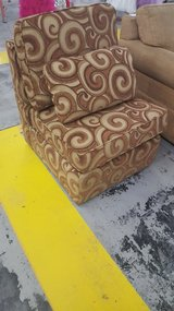 Armless accent chair in Camp Lejeune, North Carolina