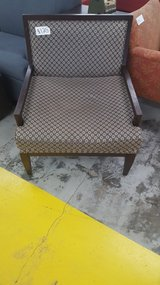 Circle patterned accent chair in Camp Lejeune, North Carolina