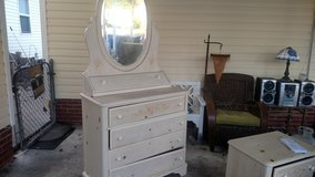 Dresser, Mirror , Nitestand Twin Headboard And Footboard-Reduced in Camp Lejeune, North Carolina