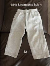 Size 4 Nike sweatpants in Naperville, Illinois