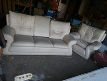 leather couch and chair in Travis AFB, California