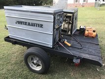 MUST SELL Mobile Generator with Compressor (comes with trailer) in Byron, Georgia