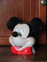 Mickey Mouse Ceramic Bank in Naperville, Illinois