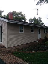 New siding and windows in Aurora, Illinois