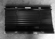 4 Black Metal Cordless Blinds in Lockport, Illinois