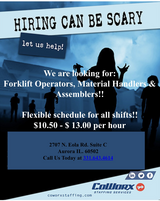 CoWorx is Hiring!! Day and Night Shift in Joliet, Illinois