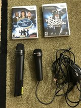 Wii games and microphones in Naperville, Illinois