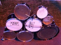 8 Piece Drum Set -- Reduced Price in Vista, California
