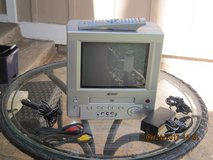 """GPX 9"""" Portable Color TV With DVD Player in Vacaville, California"""
