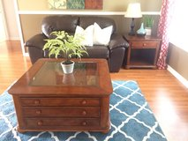 Bonded Leather Love Seat in Fort Campbell, Kentucky