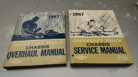 1967 Chevy truck Factory Service Manuals in Joliet, Illinois