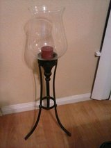 Candle stand in Lackland AFB, Texas
