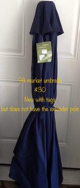 9ft Market Umbrella, New WithTags in Fort Leonard Wood, Missouri