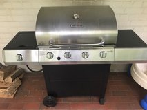 Char Broil Stainless Steel 4-Burner Grill in Ramstein, Germany