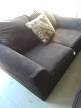 Very nice Dark Brown couch Set, Sofa and Loveseat in Kingwood, Texas