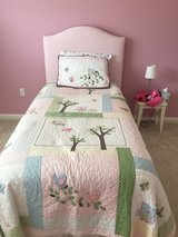 Pottery Barn bed & bedding. Entire bed included! in Toms River, New Jersey