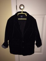 Boys Gap Black Velvet Jacket  Size Small (6/7) in Lockport, Illinois