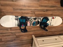 159cm Snowboard & Bindings in San Clemente, California