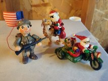 Army ornaments in Fort Irwin, California
