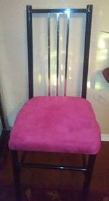 Metal Chair with new cover in Kingwood, Texas