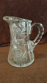 Antique Crystal Pitcher in Okinawa, Japan