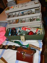 Sweden Ambassaduer  Abu Fishing Reels tackle box, in Batavia, Illinois