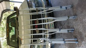 Crutches in good conditions in Fort Polk, Louisiana