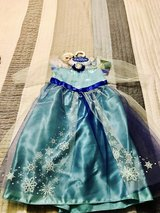 Elsa dress size 3+ in Fort Irwin, California