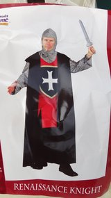 "$10.00 Special (Royal Renaissance Knight Costume ""Large"") in Camp Lejeune, North Carolina"