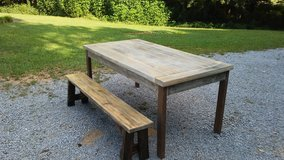 Dining table with bench in Pleasant View, Tennessee