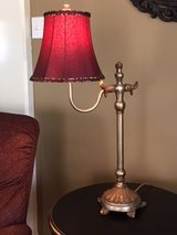 Red/leopard print Lamp in Kingwood, Texas