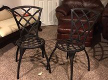 2 outdoor patio chairs in New Lenox, Illinois