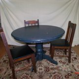 Round Table and Chairs   $75                 Adel in Moody AFB, Georgia