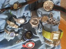 lot of 11 watches in Alamogordo, New Mexico