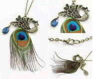 PEACOCK NECKLACE in Fort Benning, Georgia