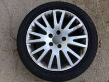07 Audi tire rim in Fort Leonard Wood, Missouri