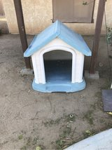 dog house in Yucca Valley, California