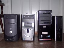 PC 4 of them. One Dell. Two Gateway. One HP. None of theese have hard drives. in Belleville, Illinois