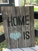 Wood Home sign in CyFair, Texas